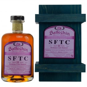 Ballechin SFTC 11 Jahre Bordeaux Cask Matured Cask No. 397