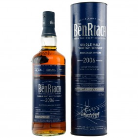 Benriach 2006/2017 Single Cask 5293 10 Jahre Pedro Ximenez Puncheon