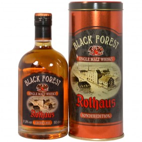 Rothaus Black Forest Single Malt Whisky Sonderedition 2015 Dark Rum Cask Finish (Deutschland)