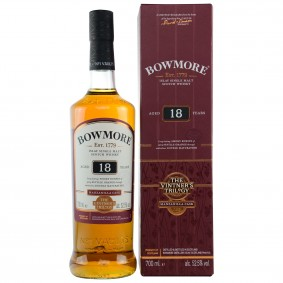 Bowmore 18 Jahre Manzanilla Cask Vintner's Trilogy 1 of 3