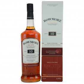 Bowmore 10 Jahre Dark and Intense (Liter)