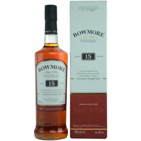 Bowmore 15 Jahre - Oloroso Sherry Cask Finish