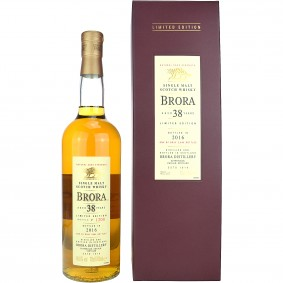 Brora 38 Jahre Cask Strength Limited Edition