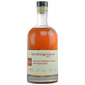 Cleveland Underground American Bourbon Finished with Apple Wood - Bottled for Germany (USA: Bourbon)