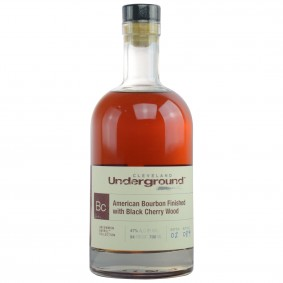 Cleveland Underground American Bourbon Finished with Black Cherry Wood - Bottled for Germany (USA: Bourbon)