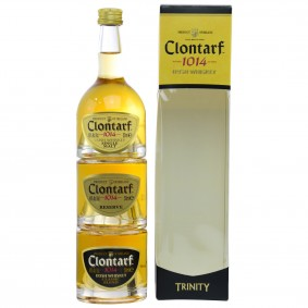 Clontarf 1014 Trinity Miniaturen Tasting Set Irish Whiskey (Irland)