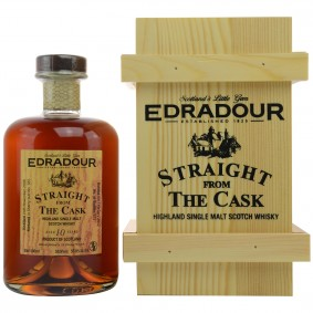 Edradour 2006/2017 Straight from the Cask 10 Jahre Sherry butt No. 385 (Holzkiste)