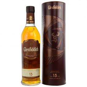 Glenfiddich 15 Jahre - Unique Solera Reserve (Metalltube)