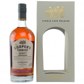 Glenrothes 2007/2017 Port Cask Finish Cask No. 9300 (Vintage Malt Whisky Company - The Coopers Choice)