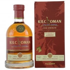 Kilchoman 2008/2017 - Sherry Casks 185 & 186 / 2008 - Small Batch Bottling Exclusively For Germany