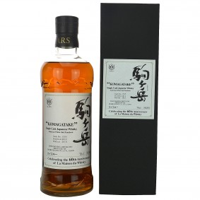 Mars Whisky Komagatake 2012/2016 Single Cask 1555 American White Oak Puncheon (Japan)