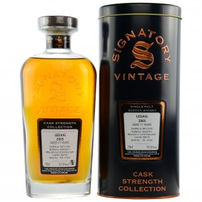 Ledaig 2005/2017 11 Jahre Cask No. 900159 - 1st Fill Sherry Butt (Signatory Cask Strength Collection)
