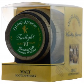 Old St. Andrews Twilight 10 Jahre Blended Scotch Whisky Miniatur Fass