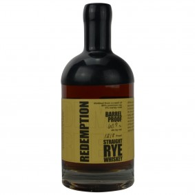 Redemption Straight Rye Whiskey Barrel Proof 121.8 Proof (USA: Rye)