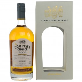Speyburn 2009/2017 Refilled Sherry Cask (Vintage Malt Whisky Company - The Coopers Choice)