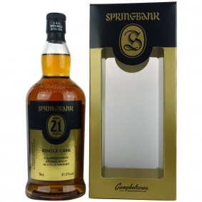 Springbank 21 Jahre Oloroso Single Cask 47,5% Vol.
