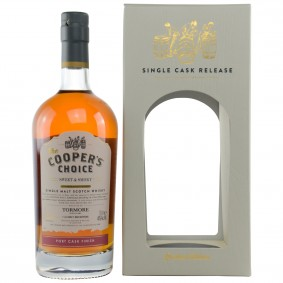Tormore Sweet & Smoky Port Cask Finish Cask No. 9292 (Vintage Malt Whisky Company - The Coopers Choice)