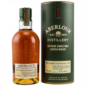 Aberlour 16 Jahre Double Cask Matured Batch No. AB16-1-19