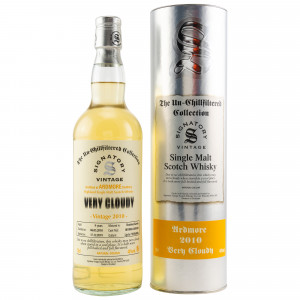 Ardmore 2010/2019 Very Cloudy Casks No. 801002+801003 (Bourbon Barrels) (Signatory Un-Chillfiltered)