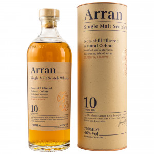 Arran 10 Jahre (non-chillfiltered)