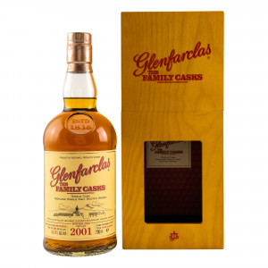 Glenfarclas 2001/2018 The Family Casks Refill Hogshead No. 3297