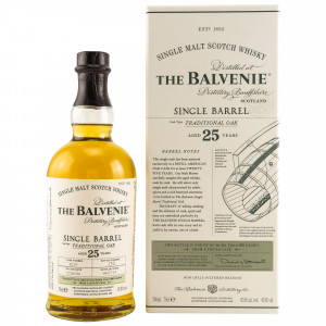 Balvenie 25 Jahre Single Barrel Traditional Oak - Cask No. 4219