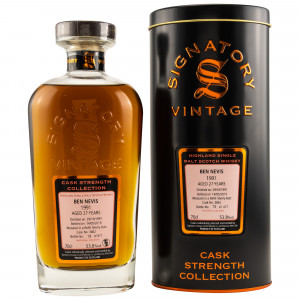Ben Nevis 1991/2019 Cask No. 3862 (Sherry Butt) (Signatory Cask Strength)