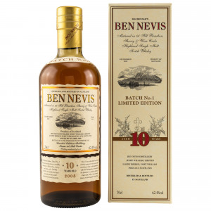 Ben Nevis 10 Jahre 2008/2018 Cask Strength Limited Edition