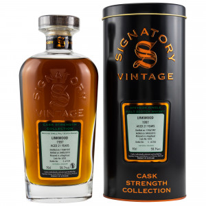 Linkwood 1997/2019 Cask No. 4242 (Signatory Cask Strength)