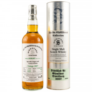 Glenlivet 2007/2019 Cask No. 900279 (Signatory Un-Chillfiltered Collection)