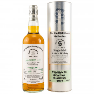 Glenlivet 2007/2019 Cask No. 900248 (Signatory Un-Chillfiltered Collection)
