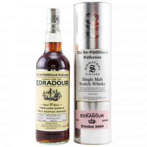 Edradour 2009/2020 10 Jahre Cask No. 381 (Signatory Un-Chillfiltered)