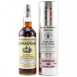 Edradour 2009/2020 10 Jahre Cask No. 394 (Signatory Un-Chillfiltered)