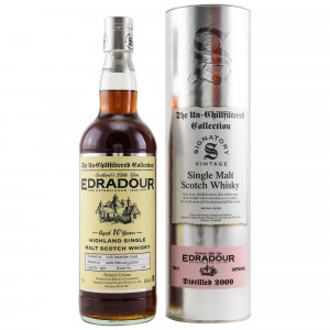Edradour 2009/2020 - 10 Jahre Cask No. 395 (Signatory Un-Chillfiltered)