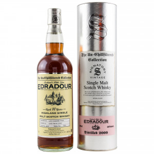 Edradour 2009/2020 - 10 Jahre Cask No. 364 (Signatory Un-Chillfiltered)