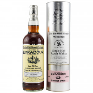 Edradour 2009/2020 - 10 Jahre Cask No. 367 (Signatory Un-Chillfiltered)