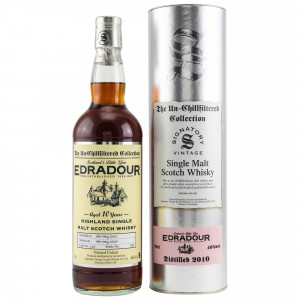 Edradour 2010/2020 - 10 Jahre Cask No. 116 (Signatory Un-Chillfiltered)