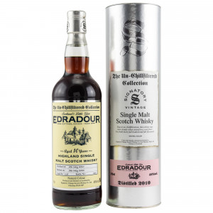 Edradour 2010/2020 - 10 Jahre Cask No. 118 (Signatory Un-Chillfiltered)