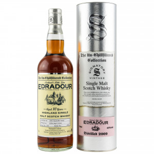 Edradour 2009/2020 - 10 Jahre Cask No. 401 (Signatory Un-Chillfiltered)