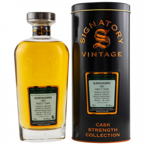 Glentauchers 1997/2019 21 Jahre Casks No. 4150+4154 (Signatory Cask Strength)