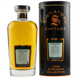 Glentauchers 1997/2019 - Cask No. 4155+4157 (Signatory Cask Strength)