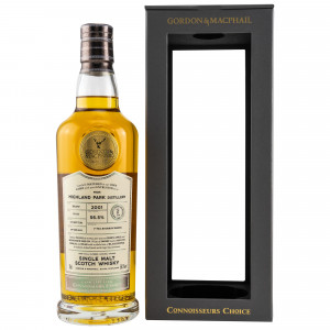 Highland Park 2001/2019 17 Jahre Cask Strength 1st Fill Bourbon Barrel 19/135 (G&M Connoisseurs Choice)