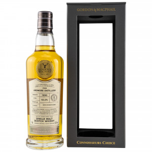 Ardmore 1990/2018 27 Jahre Cask Strength Bourbon Barrel 18/098 (G&M Connoisseurs Choice)