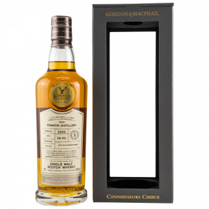 Tomatin 2002/2019 16 Jahre Cask Strength 1st Fill Bourbon Barrel 19/032 (G&M Connoisseurs Choice)