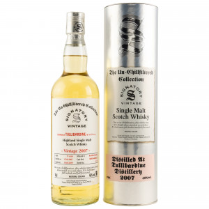Tullibardine 2007/2019 Casks No. 800109+800110 (Signatory Un-Chillfiltered)