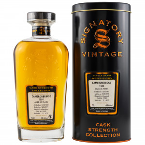 Cameronbridge Single Grain 1984/2019 Cask No. 19300 (Signatory Cask Strength)