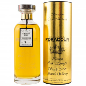 Edradour 2008/2019 Bourbon 11 Jahre Cask Ibisco Decanter