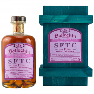 Ballechin 2007/2018 11 Jahre Bordeaux Cask No. 215 (SFTC)