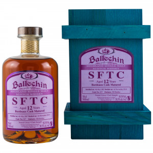 Ballechin 2007/2019 12 Jahre Bordeaux Cask No. 207 (SFTC)