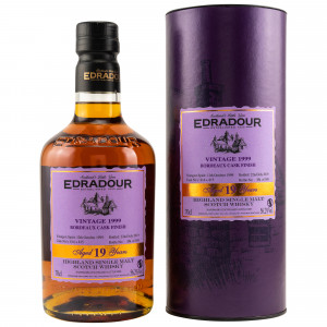 Edradour 1999/2019 Bordeaux Finish Casks 814+815